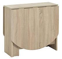 Комлект кухонный ( стол раскладной + 4 стула) светлый, фото 2