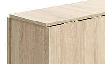 Комлект кухонный ( стол раскладной + 4 стула) светлый, фото 3