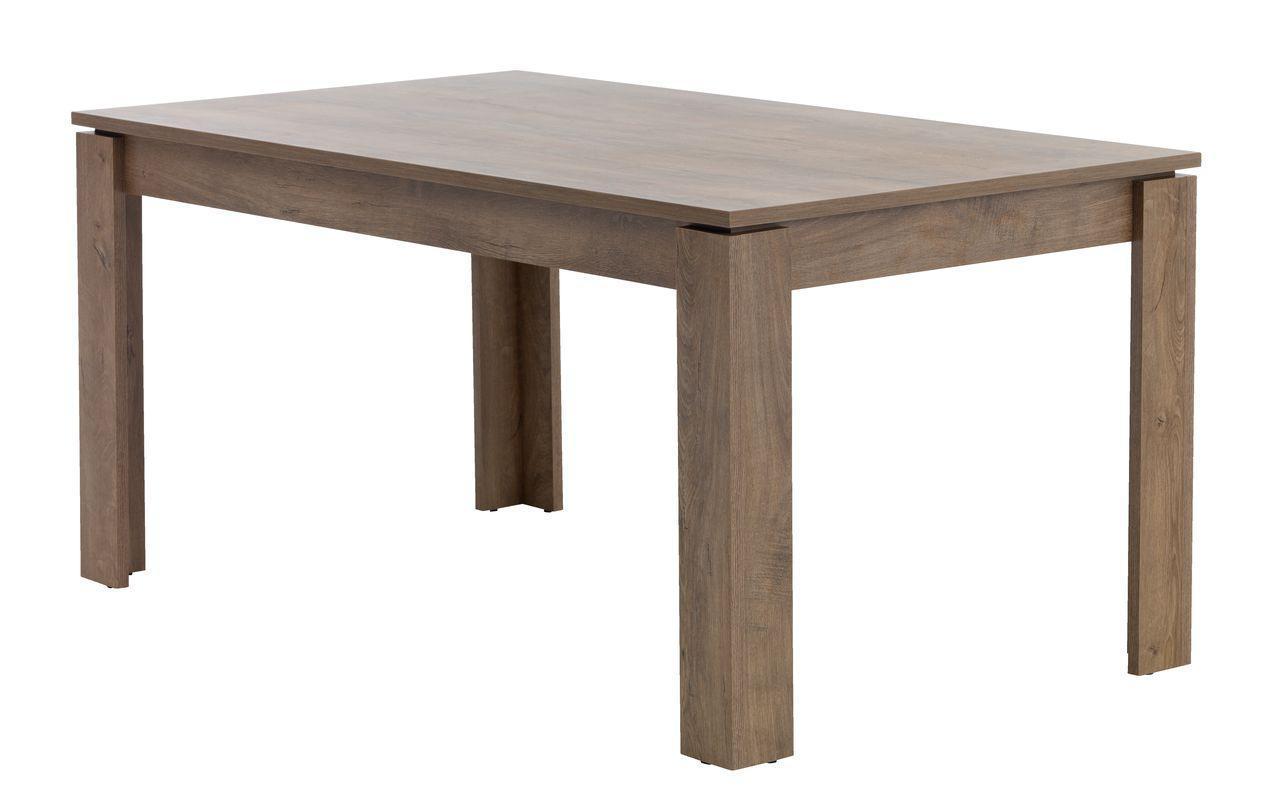 Обеденный стол 90x160см дикий дуб