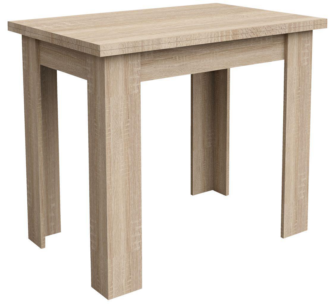 Обідній стіл розкладний Стіл обідній 90/120см дуб