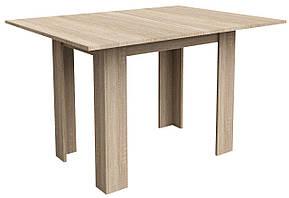 Обідній стіл розкладний Стіл обідній 90/120см дуб, фото 2