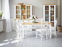 Стул обеденный белый деревянный , фото 2