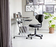 Кресло офисное компьютерное на колесиках с подъемным механизмом, фото 2