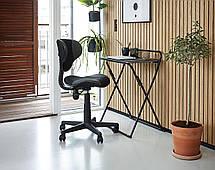 Кресло офисное компьютерное на колесиках с подъемным механизмом, фото 3