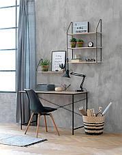 Стол офисный  письменный на металлических ножках 120 см , фото 2