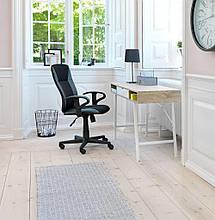 Стильный офисный стол с ящиком белый дуб 120 см, фото 3