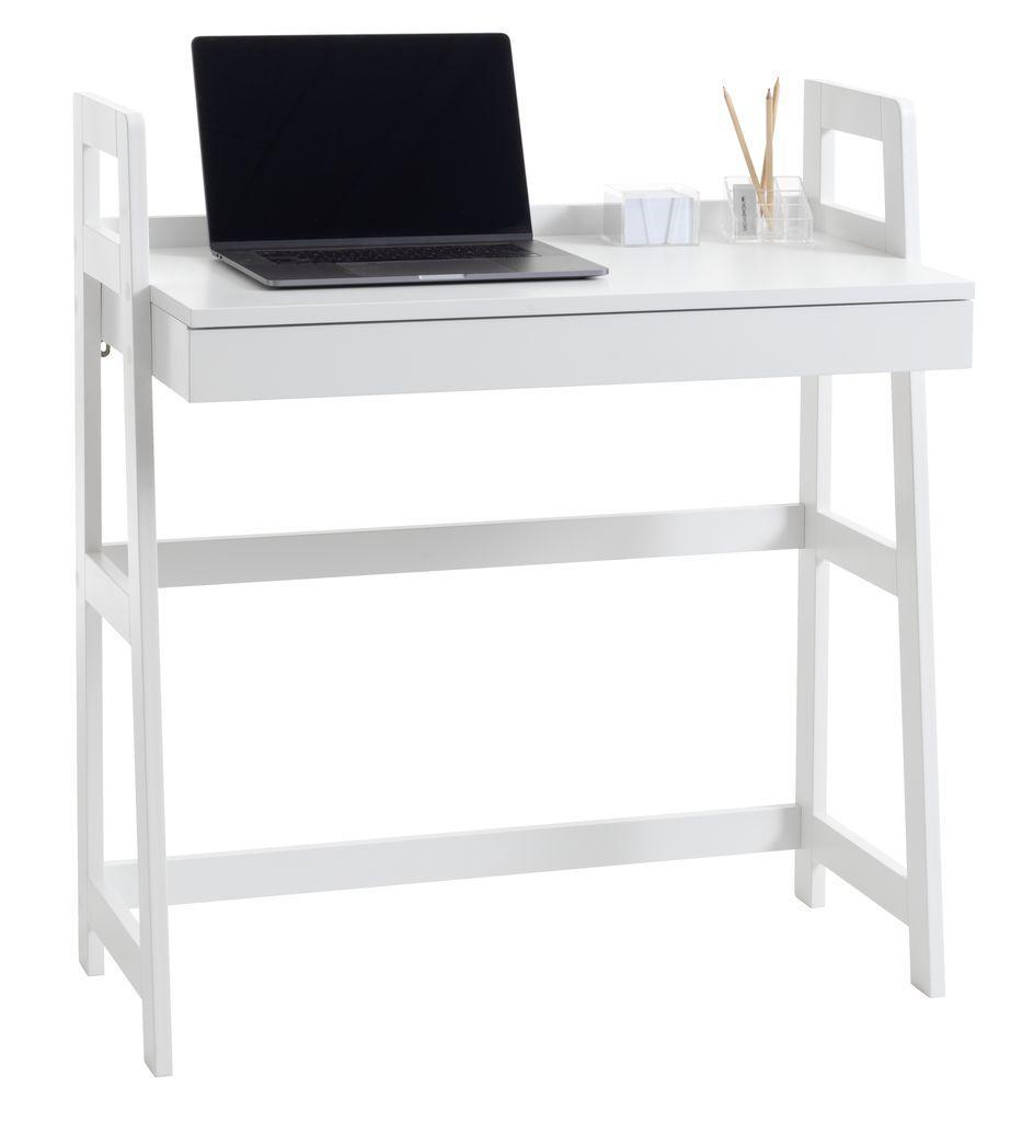Стол письменный белый для ноутбука