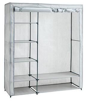 Большой тканевый шкаф на металлическом каркасе (149х174см), фото 2