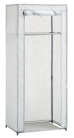 Тканевый шкаф на металлическом каркасе (60x150см), фото 2