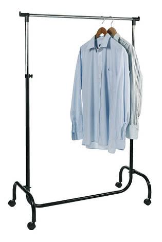 Вешалка напольная передвижная с регулируемой высотой,  90 см, фото 2