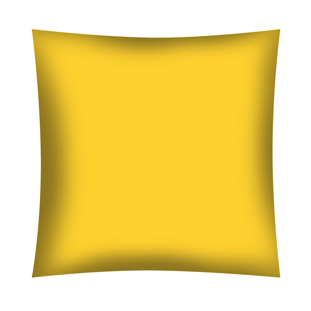 Однотонная Желтая хлопковая ткань