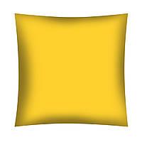 Однотонная Желтая хлопковая ткань, фото 1