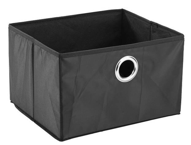 Ящик черный тканевый для хранения 32Х27 см, фото 2