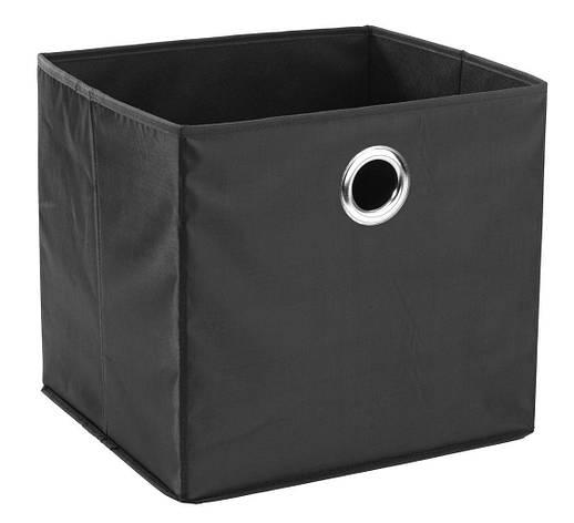 Ящик короб черный тканевый для хранения 32Х27 см, фото 2
