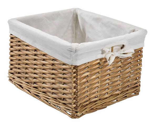 Ящик плетенный из лозы  27Х32 см, фото 2
