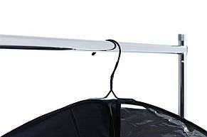 Вешалка напольная передвижная хром, фото 2
