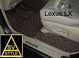 Коврики BMW X5 Е70 Кожаные 3D (2006-2013) Оригинальные, фото 10