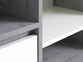Буфет с дверцами, отделка под бетон, фото 2