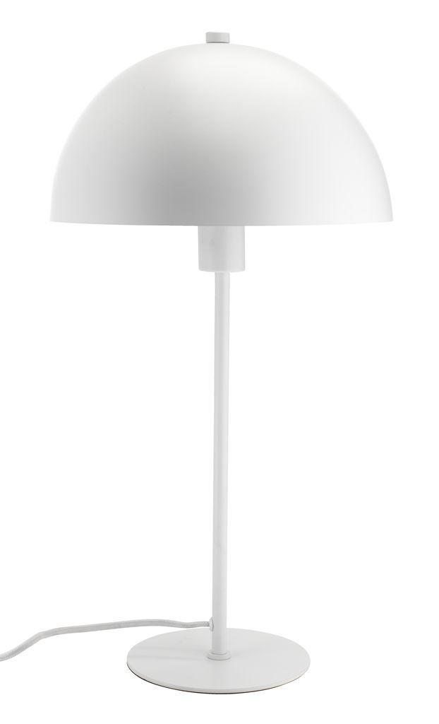 Настольная лампа белая, высота 46см