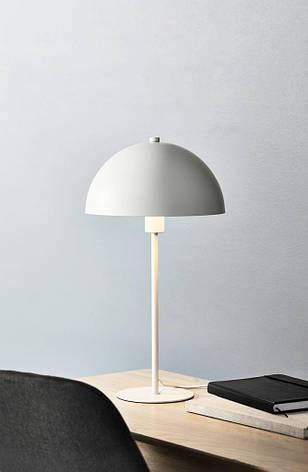 Настольная лампа белая, высота 46см, фото 2