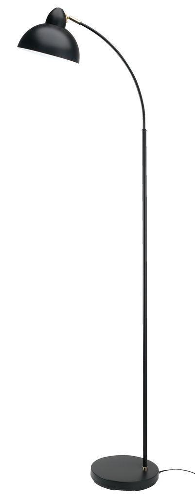 Торшер лампа напольная черная (высота 154 см)
