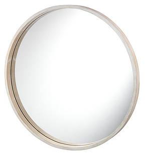 Зеркало настенное круглое, натура  (55 см), фото 2