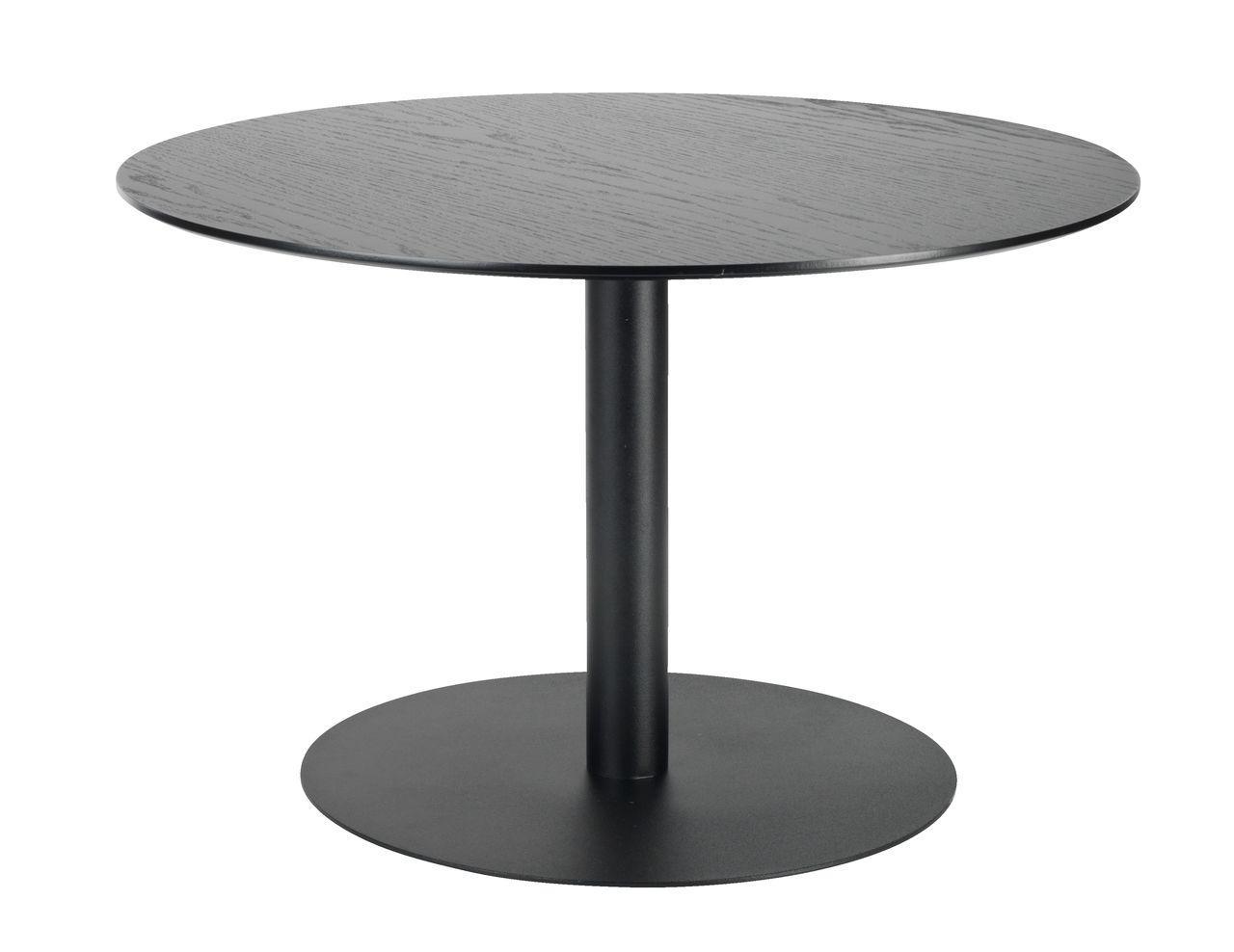 Большой круглый кофейный столик на металлической ножке