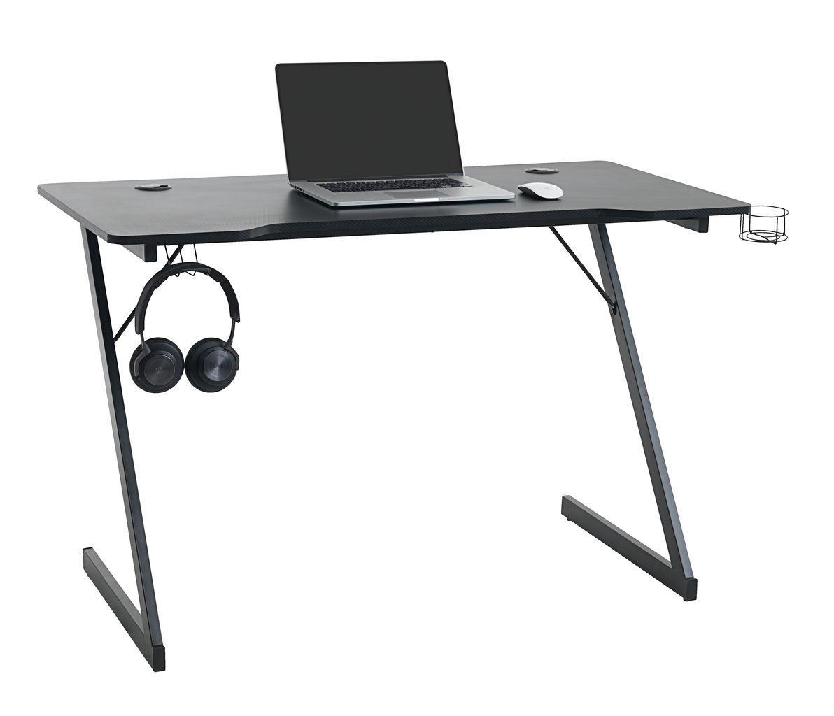 Стіл комп'ютерний геймерський чорний