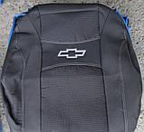 Автомобільні чохли Chevrolet Aveo 2002-2011 HB Nika, фото 2
