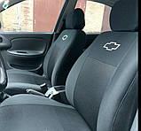 Автомобільні чохли Chevrolet Aveo 2002-2011 HB Nika, фото 6