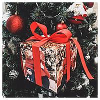 Фотокубик от производителя 10х10 см Оригинальный подарок к 14 февраля и 8 марта. Подарок фотокубик