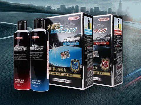 Жидкое стекло для кузова авто Willson Taiyoko 9225, защитное покрытие для кузова авто
