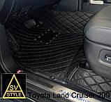 Коврики Mercedes 222 из Экокожи 3D (2013-2019), фото 8