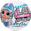 Кукла LOL Спортивная Команда Beatnik Babe Surprise Лол Сюрприз Оригинал All Stars, фото 3