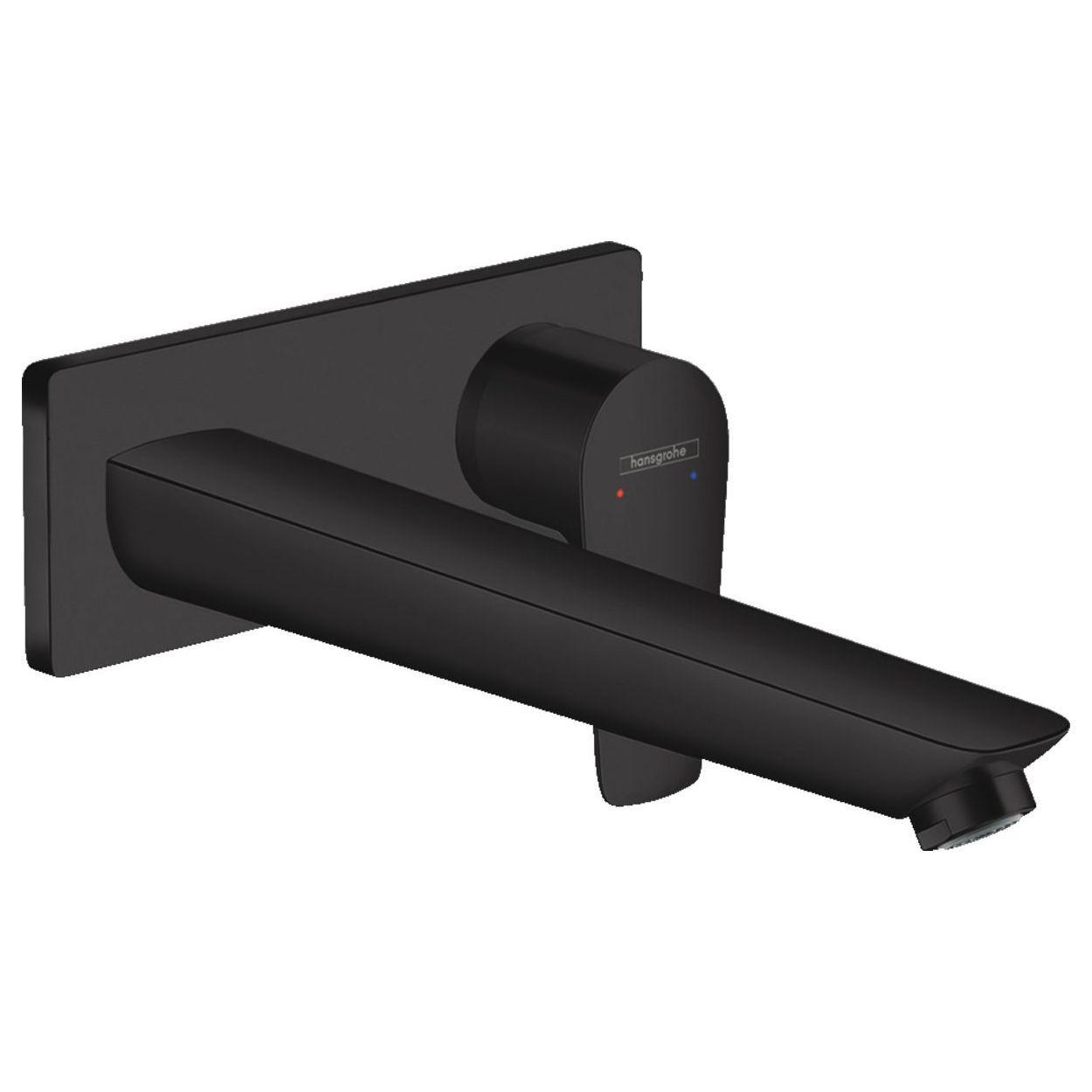 Talis E Смеситель для раковины, однорычажный, скрытого монтажа, цвет покрытия матовый черный