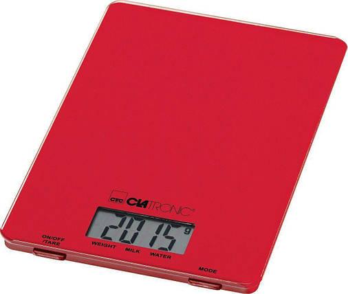 Весы CLATRONIC KW 3626 красный, фото 2