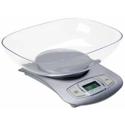 Весы кухонные Adler AD 3137 silver, фото 2