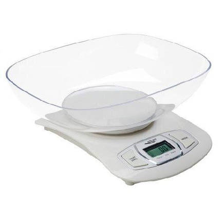 Весы кухонные Adler AD 3137 white, фото 2