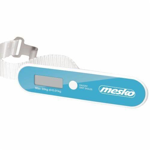 Весы багажные Mesko MS 8147B blue