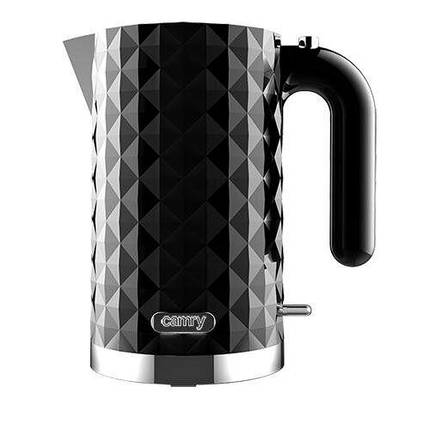 Чайник Camry CR 1269 black 1,7L, фото 2