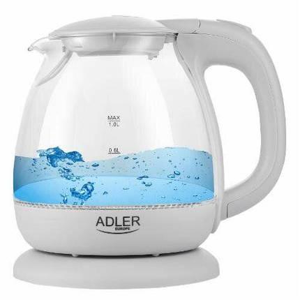 Чайник Adler AD 1283G grey, фото 2