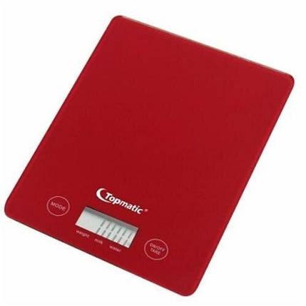 Весы кухонные Topmatic Topmatic KS-400.1 red, фото 2