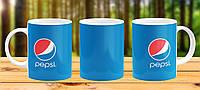 Оригинальная кружка с принтом Pepsi Прикольная чашка подарок парню другу