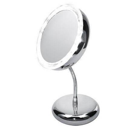Зеркало косметическое Adler AD 2159 LED 3x zoom, фото 2