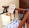 Подвесная Сушилка Для Одежды И Обуви На Батарею Сушилка Для Полотенец Складная Вешалка, фото 3