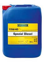 RAVENOL масло моторное 15W-40 Spezial Diesel API CD (20 л)