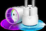 Розеточный выключатель со счетчиком электроэнергии FIBARO Wall Plug — FIBEFGWPF-102-5 (FIB_FGWPF-101), фото 7