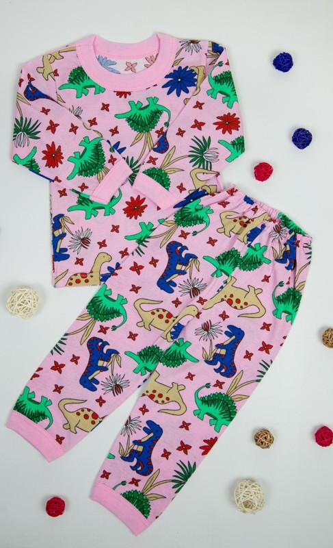 Пижама для девочек из кулира (100% хлопок)