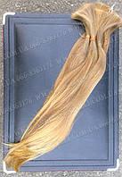 Светло русые неокрашенные волосы 55 см., фото 1