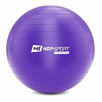 Фітбол Hop-Sport 75cm HS-R085YB violet + насос